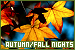Autumn/Fall Nights:
